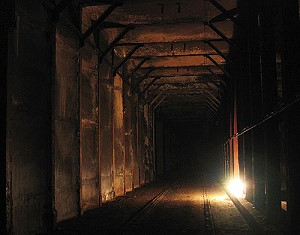 abandoned subway tunnel
