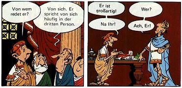 bilder aus 'asterix und die trabantenstadt'