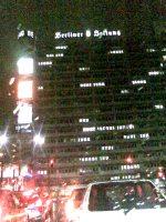 berliner verlag, außenansicht, bei nacht