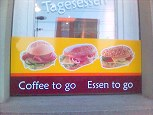 coffee to go / essen to go