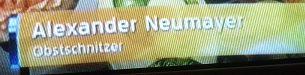 alexander neumayer - obstschnitzer