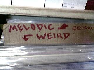 melodic // weird
