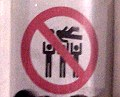 no crowdsurfing
